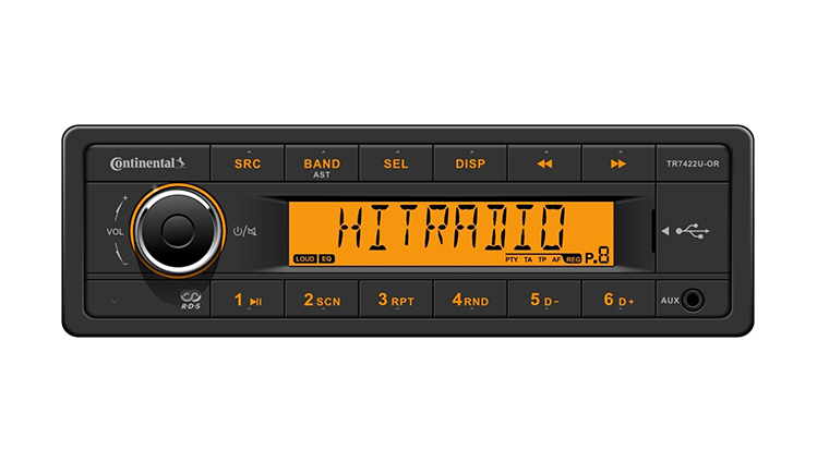FM/AM Radio with USB/Bluetooth®