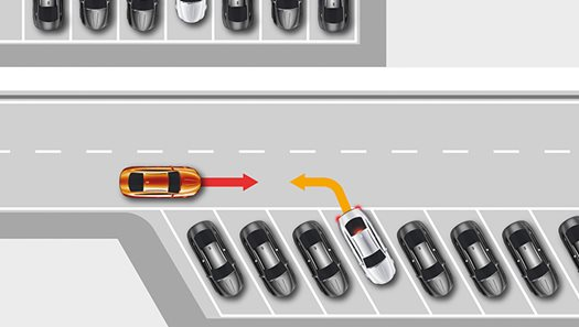 Rear Cross Traffic Assist with Braking