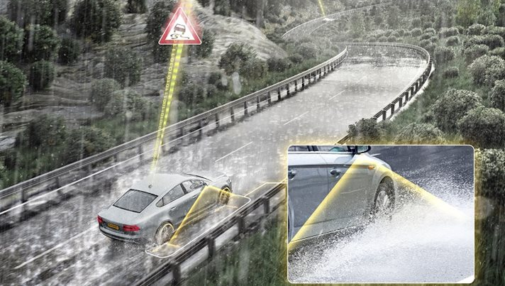 Aquaplaning assistance concepts