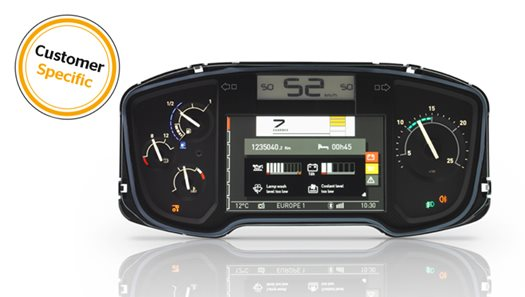 Instrument Cluster Customized