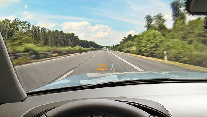 Windshield HUD