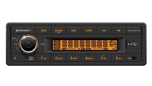 CAN Radio/USB - MP3/WMA/Bluetooth®