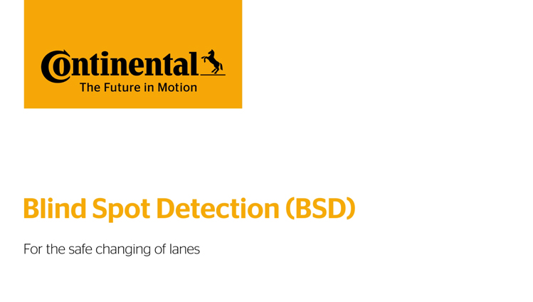 Continental Automotive - Short Range Radar – SRR320