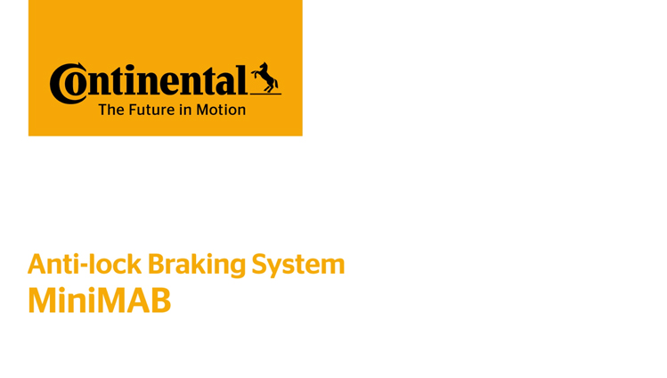 Continental Automotive - MiniMAB - One Channel ABS for