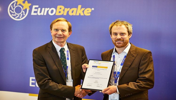 Continental wins EuroBrake Award